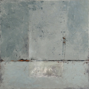 Graceann Warn, Stonington, 2013; oil, beeswax, pigment on wood panel; 40 x 40 inches