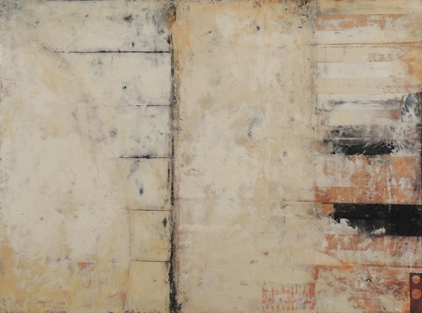 Graceann Warn, Sugar Factory Painting #2, 2014; oil, beeswax and pigment; 30 x 40 inches