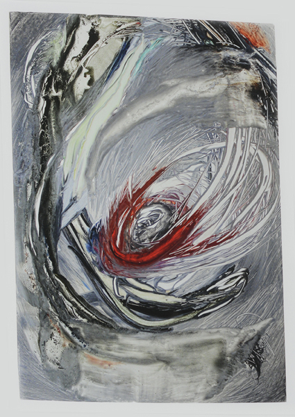 Maritza Ruiz-Kim, Concepción #1, molten, 2014; digital photograph, archival pigment print on Canson BFK; 28.25 x 20.5 inches