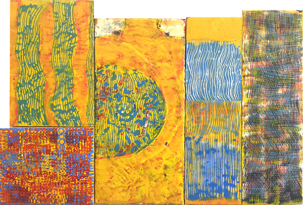 JSRoss_Waves_2016_Encaustic_paper_and_textile_collage_on_recycled_wood_26x38.5_600